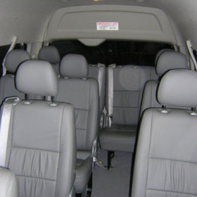 Air Conditioned 11-13 seat Commuter Mini Bus
